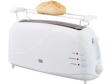 KHG Langschlitz-Toaster  TO-1003LS (W) - weiß - Metall, Kunststoff - 41 cm - 19,3 cm - 12,5 cm - Sconto