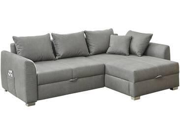 Polsterecke - grau - 239 cm - 81 cm - 160 cm - Sconto