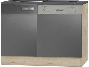 Spülenschrank-Set  Udine - 110 cm - 84,8 cm - 60 cm - Sconto