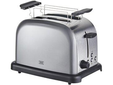 KHG Toaster   TO-1005 (AS) - grau - Edelstahl, Kunststoff - 30 cm - 20 cm - 18,3 cm - Sconto