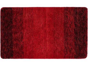 LAVIDA Badteppich - rot - 100% Mikrofaser - 70 cm - Sconto