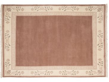 Nepal-Teppich  Classica - rosa/pink - 100 % Neuseelandwolle - 170 cm - Sconto