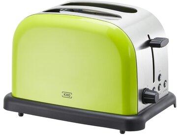 KHG Toaster lime  TO-1005 (LS) - grün - Edelstahl, Kunststoff - 30 cm - 20 cm - 18,3 cm - Sconto