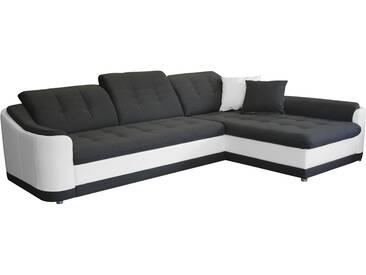 Polsterecke - schwarz - 278 cm - 86 cm - 195 cm - Sconto