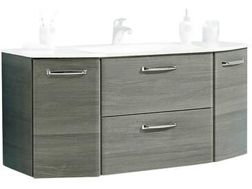 calmo2go Waschtischunterschrank - grau - 111 cm - 51,5 cm - 48 cm - Sconto