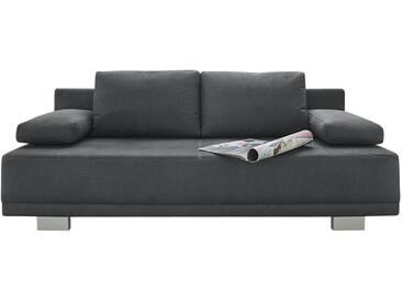 Schlafsofa - grau - 196 cm - 78 cm - 82 cm - Sconto