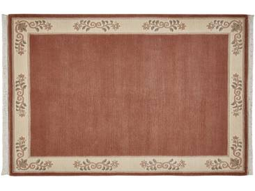 Nepal-Teppich  Classica - rosa/pink - 100 % Neuseelandwolle - 70 cm - Sconto