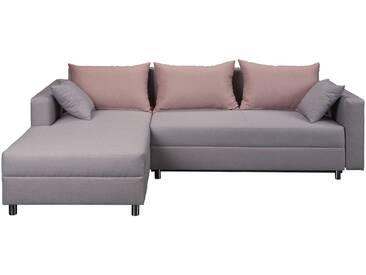 Polsterecke - grau - 250 cm - 75 cm - 160 cm - Sconto
