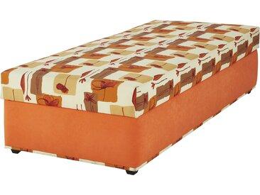 Polsterliege, Liegefläche ca. 90x200 cm  Stefi 1 - orange - 92 cm - 53 cm - 202 cm - Sconto