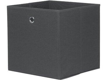 Faltbox - grau - Polypropylen - 32 cm - 32 cm - 32 cm - Sconto
