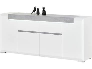 Sideboard - weiß - 190 cm - 84 cm - 42 cm - Sconto