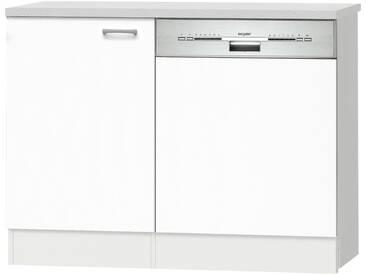 Spülenunterschrank  Klassik 60 - weiß - 110 cm - 84,8 cm - 60 cm - Sconto
