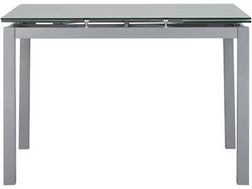 Glastisch Weissglasoptik - weiß - 110 cm - 75 cm - 70 cm - Sconto