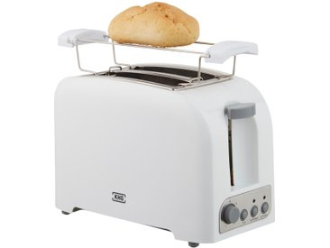 KHG Toaster  TO-750 (W) - weiß - Metall, Kunststoff - 25 cm - 18 cm - 15 cm - Sconto
