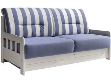 Schlafsofa - blau - 154 cm - 88 cm - 90 cm - Sconto