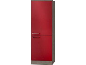 Hochschrank für Einbaukühlschrank  Imola - rot - 60 cm - 174,4 cm - 58 cm - Sconto