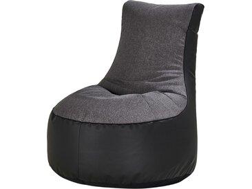Sitzsack  Meg - grau - 80 cm - 86 cm - 95 cm - Sconto