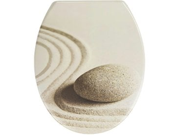 WC-Sitz - beige - 37,5 cm - 45 cm - Sconto