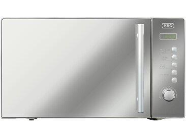 KHG Mikrowelle  MW-20GSD - silber - Kunststoff, Metall-lackiert - 43,3 cm - 25,8 cm - 34,5 cm - Sconto