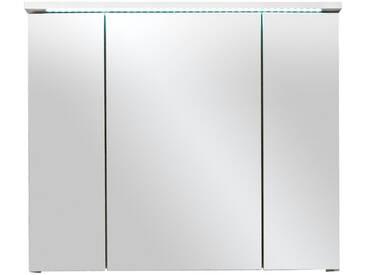 Spiegelschrank - weiß - 80 cm - 68 cm - 23 cm - Sconto