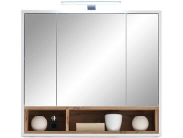 Spiegelschrank - weiß - 80 cm - 72 cm - 20 cm - Sconto