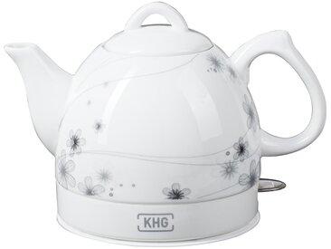 KHG Keramik-Wasserkocher  WK-080K (D) - weiß - Metall, Kunststoff, Keramik - 25 cm - 19 cm - 15 cm - Sconto