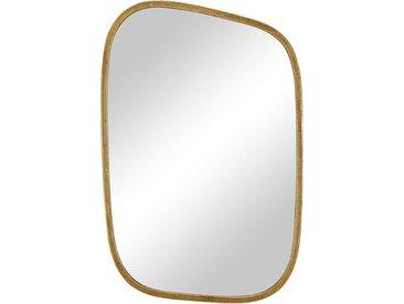 Wandspiegel - gold - 31 cm - 46 cm - 1,8 cm - Sconto