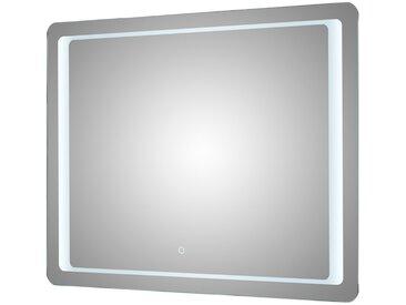 LED Funktionsspiegel - verspiegelt - 90 cm - 70 cm - 3 cm - Sconto