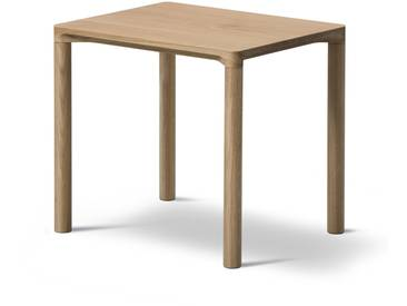 Fredericia Furniture Fredericia - Piloti Sofatisch, 31 x 39 cm, Eiche geölt