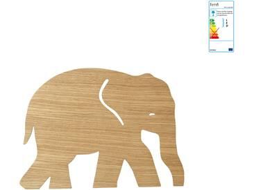ferm Living - Elefant Wandleuchte, Eiche geölt