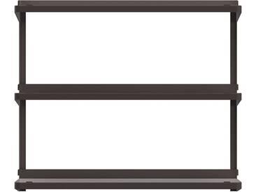New Tendency - Click Regalsystem, 710 × 210 × 610 mm, umbra