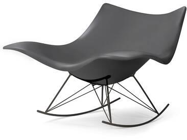 Fredericia Furniture Fredericia - Stingray Schaukelstuhl, matt grau / flint