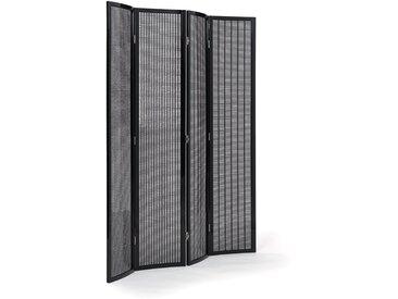ClassiCon - Folding Screen Paravent, schwarz hochglanz