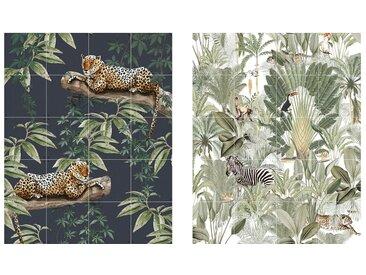 IXXI - Chilling in the Jungle & Into the Wild, 80 x 100 cm