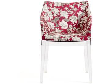 Kartell - Madame Stuhl, klar / lilium red