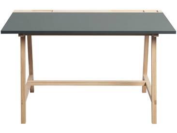 Andersen Furniture - Schreibtisch D1, eiche / grau