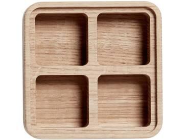 Andersen Furniture - Create Me Box 12 x 12 cm, 4 Fächer, Eiche