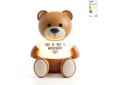 Kartell - Toy Moschino Teddy-Bär-Tischleuchte, transparent / braun