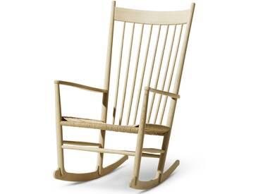 Fredericia Furniture Fredericia - J16 Schaukelstuhl, Eiche geseift / natur