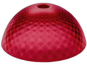 Koziol - Stella Silk Lampenschirm XL, transparent rot