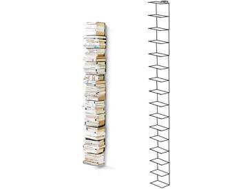 Opinion Ciatti - Ptolomeo Wand-Bücherregal PTW210, schwarz