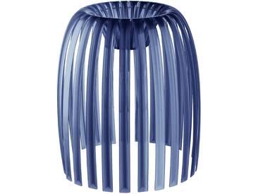 Koziol - Josephine Lampenschirm M, transparent tiefsamtblau