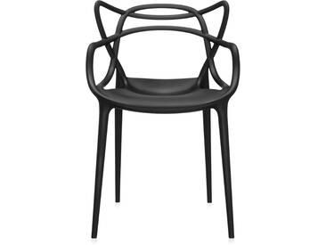Kartell - Masters Stuhl, schwarz