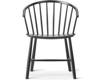 Fredericia Furniture Fredericia - J64 Stuhl, Esche schwarz gebeizt