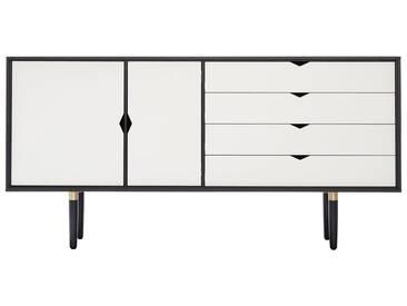 Andersen Furniture - S6 Sideboard, Eiche schwarz lackiert / Fronten weiß