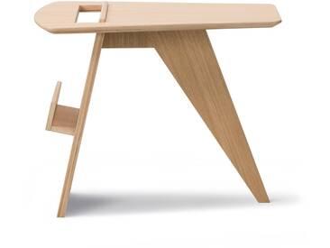 Fredericia Furniture Fredericia - Risom Magazin Beistelltisch, Eiche klar lackiert
