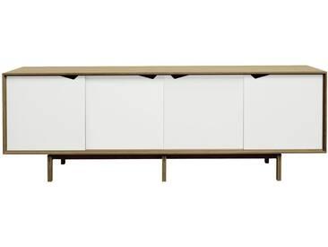 Andersen Furniture - S1 Sideboard, Eiche geölt/ Türen weiß