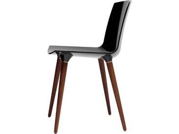 Andersen Furniture - TAC Stuhl, Walnuss / schwarz (RAL 9005)