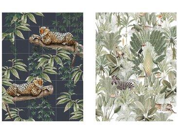 IXXI - Chilling in the Jungle & Into the wild, 120 x 160 cm
