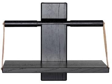 Andersen Furniture - Wood Wall Hängeregal, 30 x 18 x H 24 cm, schwarz